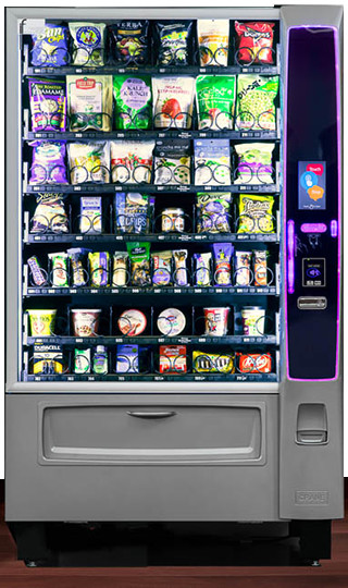 New York snack vending machine service provider
