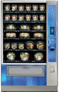 Healthy vending machines designed for schools in the US