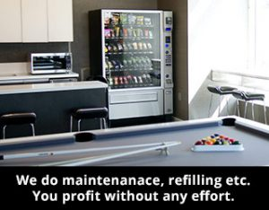 Make profit from a healthy vending machines for businesses