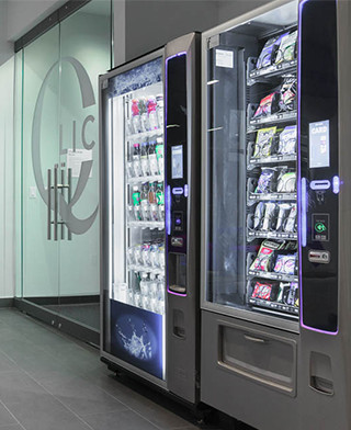 High-tech vending machines for residential apartment buildings in NY and all over the USA