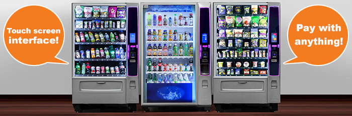 Profit from your venue with a NY high-tech vending machine